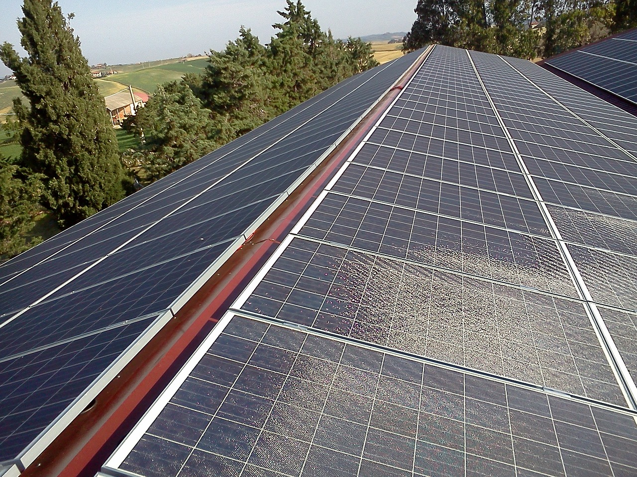 Sistema fotovoltaico dettaglio